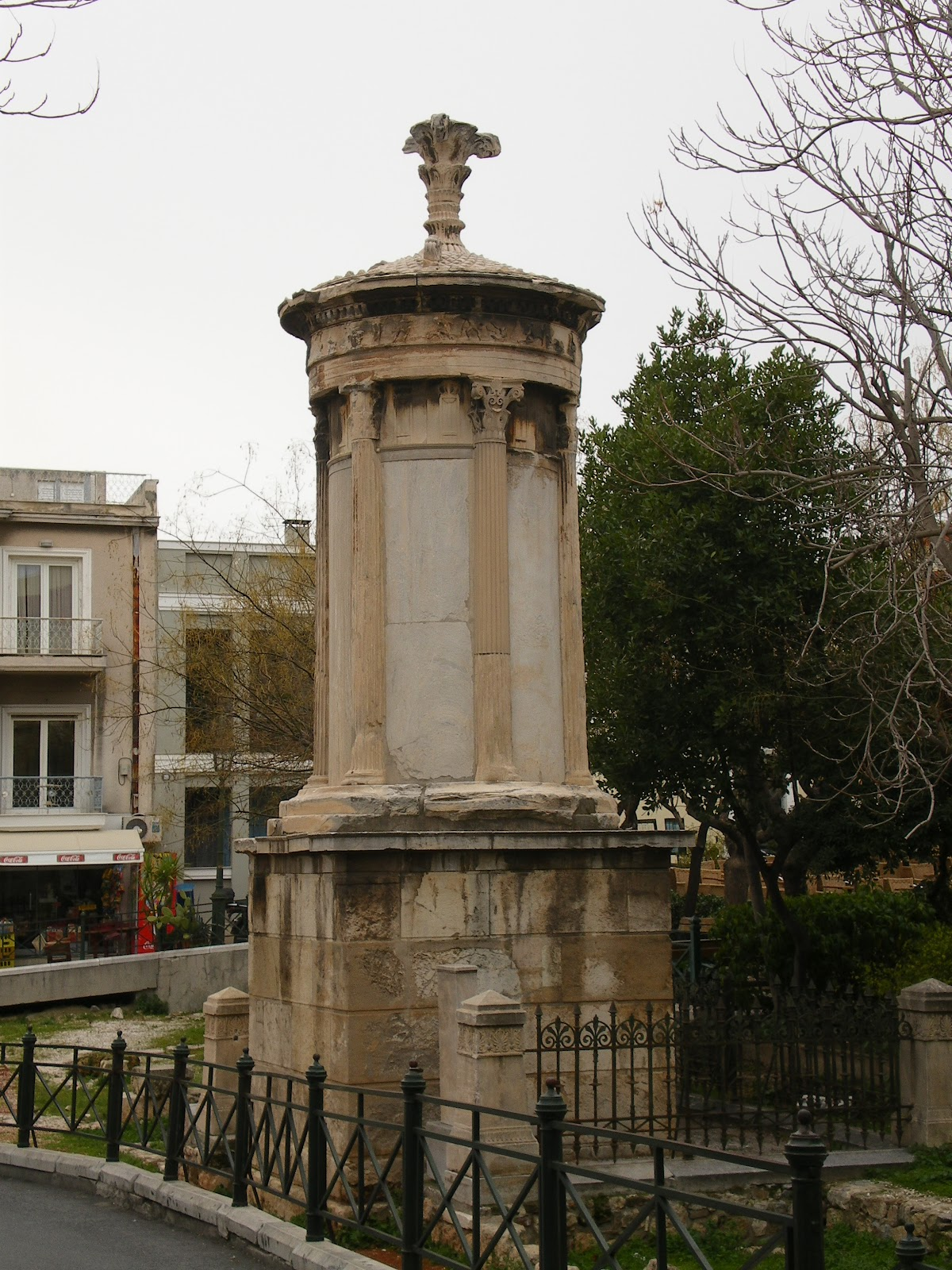 The Diogenes Lantern in Plaka